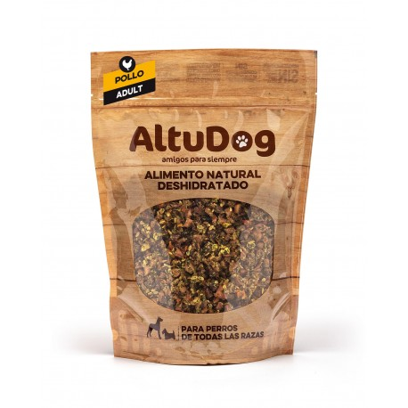 Natural food for Adult dogs CHICKEN Menu