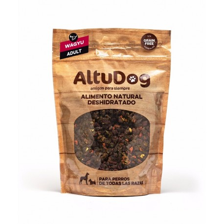 Natural food for Adult dogs WAGYU BEEF GRAIN FREE Menu 1Kg