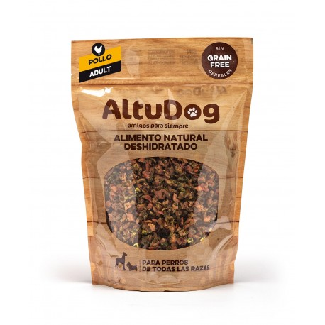 Natural food for Adult dogs CHICKEN GRAIN FREE Menu
