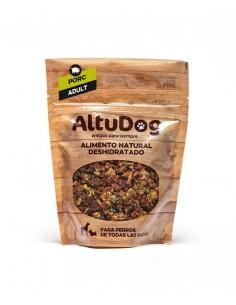 Aliment naturel pour chien dinde menu