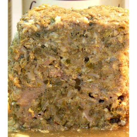 Tripa verde fresca de cordero 100%, 300g