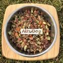 Cibo naturale per cani tacchino menu