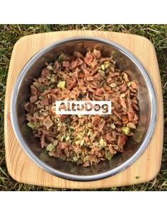 Alimento natural para perros PAVO 250Gr (1Kg)