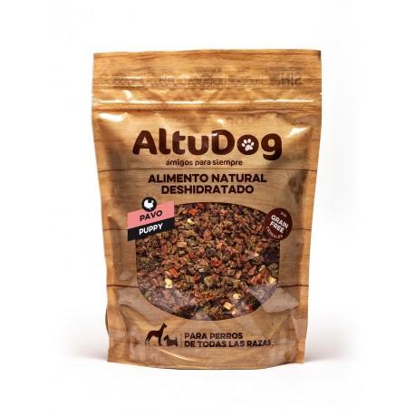 aliment naturel deshydrate pour chiots sans cereals dinde menu