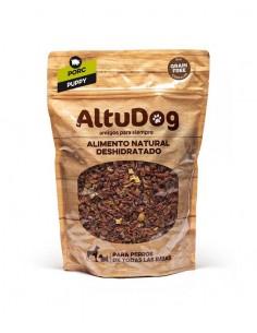 cibo naturale disidratato per cuccioli senza cereali tacchino menu