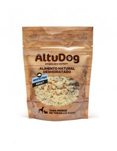 Alimento natural de pescado blanco para perros adultos 250g