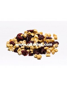 Apple and Blueberry dehydrated 100% Natural Snack