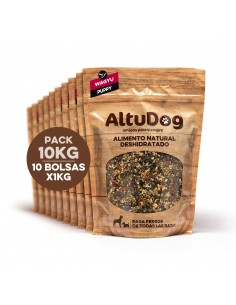 Natural food for PUPPY dogs - WAGYU BEEF Menu 10Kg (40Kg)