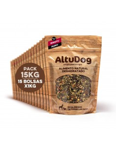 Natural food for PUPPY dogs - WAGYU BEEF Menu 15Kg (60Kg)
