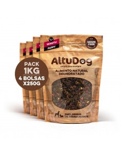 Pack 4 bags 250g puppy wagyu without cereals