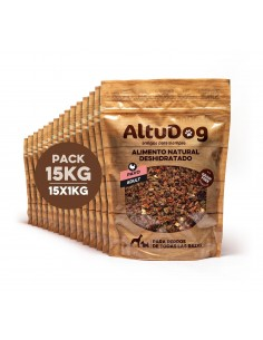 Dehydrated natural food for dogs turkey grain free menu