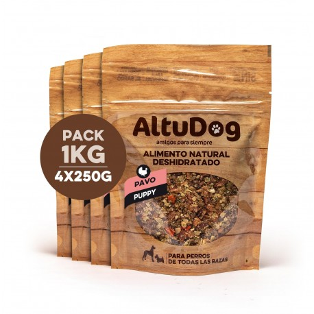 NATURAL FOOD FOR DOGS TURKEY MENU