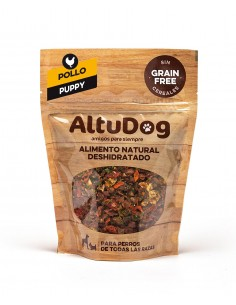 TRY ALTUDOG Chicken Grain Free Menu for Puppies 250g (1Kg)