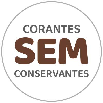Sin conservantes ni colorantes